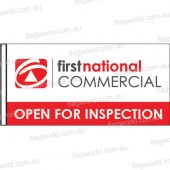 First National Commercial - Open For Inspection with sleeve