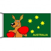 Fighting Kangaroo Flag