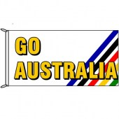 Go Australia (Stripes) Flag