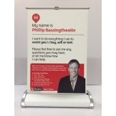 A4 Single Sided Pull Up Banner