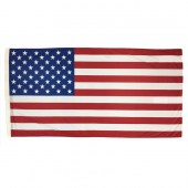 American Flag 1800mm x 900mm (Fully Sewn, Vertical Sleeve)