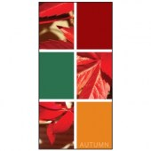 Autumn Flag 12 900mm x 1800mm (Knittted)