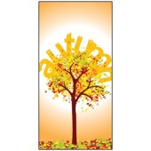 Autumn Flag 8 900mm x 1800mm (Knittted)
