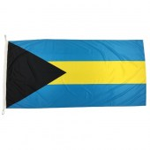 Bahamas Flag 1800mm x 900mm (Knitted)