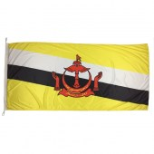 Brunei Flag 1800mm x 900mm (Knitted)