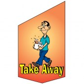 Take Away Shop Front Banner