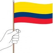 Colombia Hand Flag Handwaver