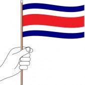 Costa Rica Hand Flag Handwaver