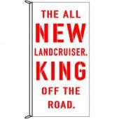 Landcruiser King of the Road Flag