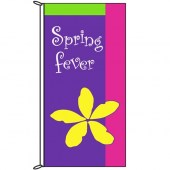 Spring Flag Spring Fever Purple 900mm x 1800mm (Knitted)