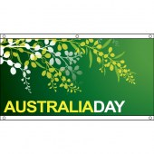 Australia Day Wattle Design- eyelet finish