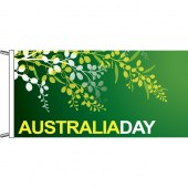 Australia Day wattle design, horizontal finish.