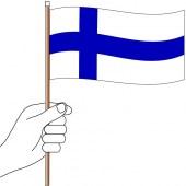 Finland Hand Flag Handwaver