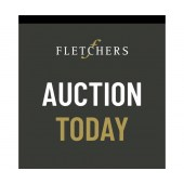 Fletchers Auction Today Flag  (True Double Sided)