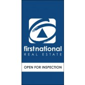 First National Reverse Logo Open Inspection