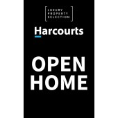 Harcourts Luxury Open Home Black