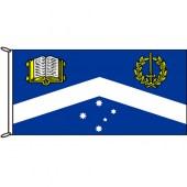 MOnash University Corp Flag Woven
