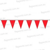 Pennant Bunting Fluoro Red