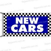 New Cars Checks Flag
