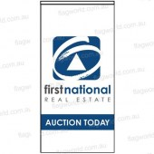 First National Auction Today Flag