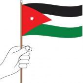 Jordan Hand Flag Handwaver