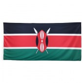 Kenya Flag 1800mm x900mm (Knitted)