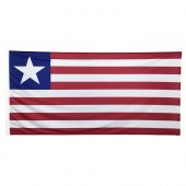 Liberia Flag 1800mm x 900mm (Knitted)