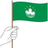 Macao Hand Flag Handwaver