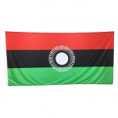 Malawi Flag  (design effective from 2010-2012)