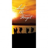 Remembrance Day Flag - Soldiers Silhouettes (15)