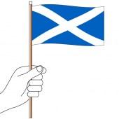 Scotland Handwaver  Hand Flag