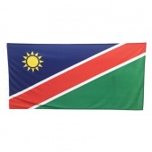 Namibia Flag 1800mm x 900mm (Knitted)