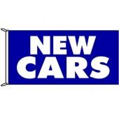 New Cars Flag Blue