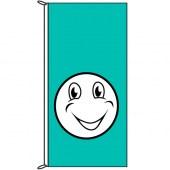 happy flag turquoise