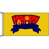 happy birthday flag