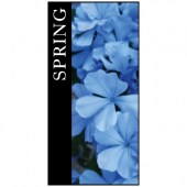 Spring Flag Blue 900mm x 1800mm (Knitted)