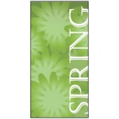 Spring Flag Green 900mm x 1800mm (Knitted)