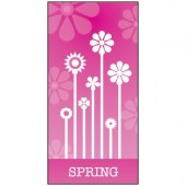 Spring Flag Pink 900mm x 1800mm (Knitted)