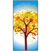 Spring Flag Tree 900mm x 1800mm (Knitted)