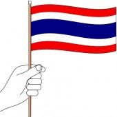 Thailand Hand Flag Handwaver