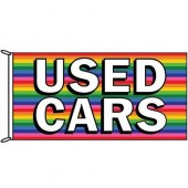 Used Cars Rainbow Flag