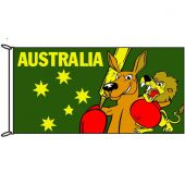 Fighting Roo Flag