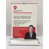 A4 Double Sided Pull Up Banner
