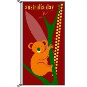 Australia Day Koala Flag
