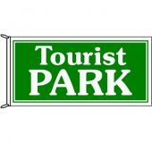 Tourist Park Flag 1800mm x 900mm (Knitted)