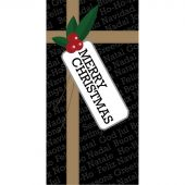 Christmas Flag  with Bow 900mm x 1800mm