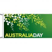 Australia Day wattle design, horizontal finish.