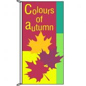 Autumn Flag - Colours of Autumn 900mm x 1800mm (Knittted)