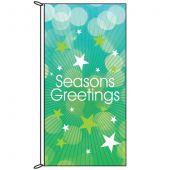 Seasons Greetings Green flag