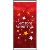 Seasons Greetings Red Flag